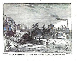 Kingstown Dublin Railway-thestewartsinireland.ie