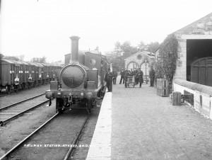 Old Railway Station at Athboy Co. Meath-thestewartsinireland.ie