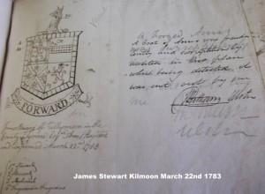 Stewart Tyrone James of Kilmoon Mar 1783 Sketch-thestewartsinireland.ie